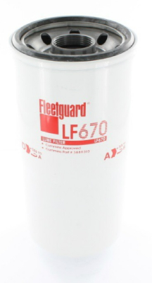 Lube filter LF670